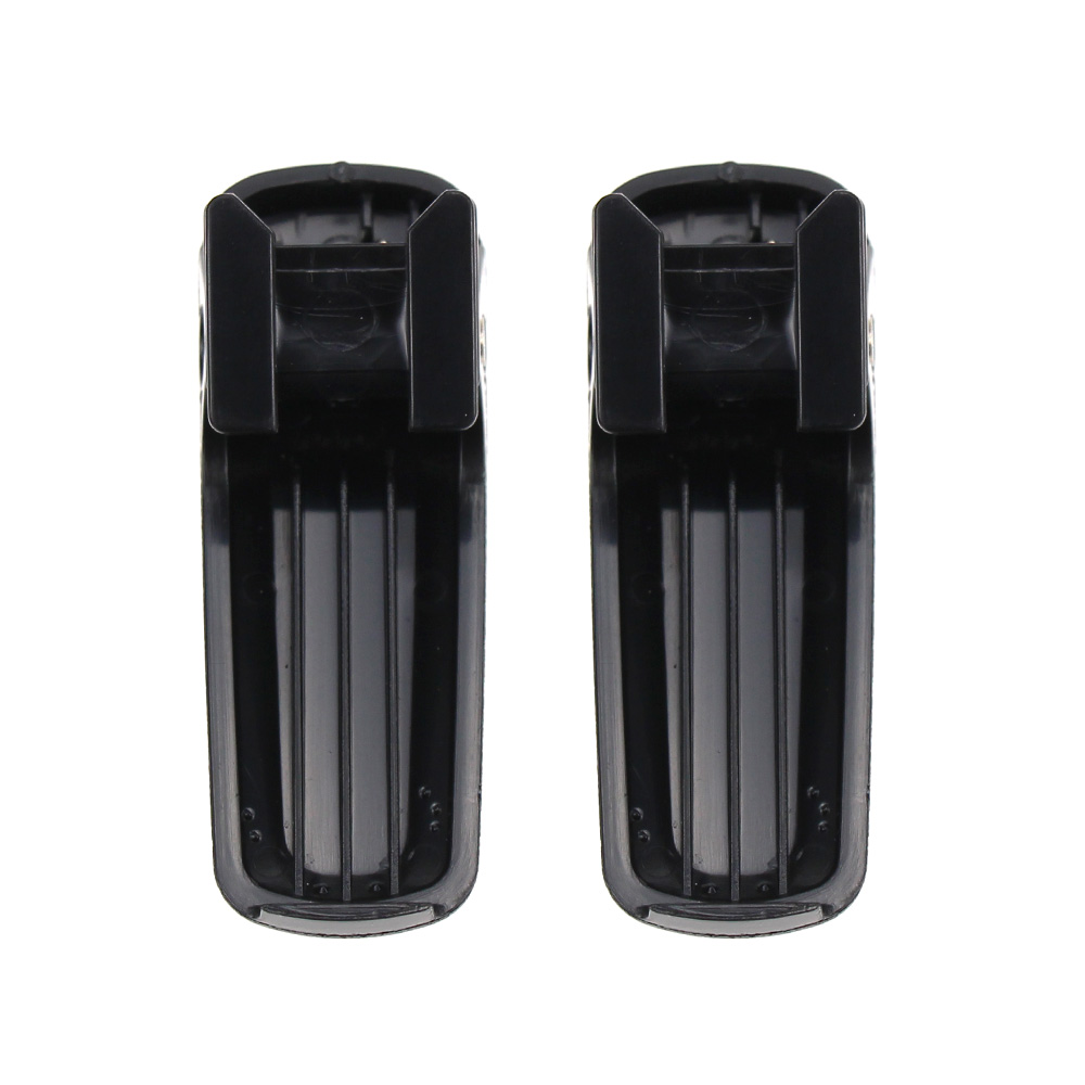 2X Battery Belt Clip For Kenwood KNB-63L KNB-65L TH-K20A/K20E TH-K40A/K40E Radio