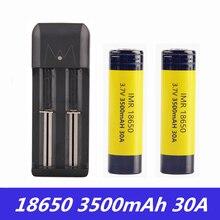 Vape батарея 18650 Listman IMR 3,7 V 30A 3500mAh литий-ионная аккумуляторная батарея 18650 батарея для Vape Box Mod