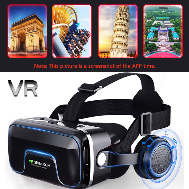G04EA Upgraded 3D <font><b>Glasses</b></font> Virtual Reality Headset Game <font><b>Glasses</b></font> <font><b>For</b></font> iPhone Android Smartphone Smart Phone Goggles Gaming 3 D image