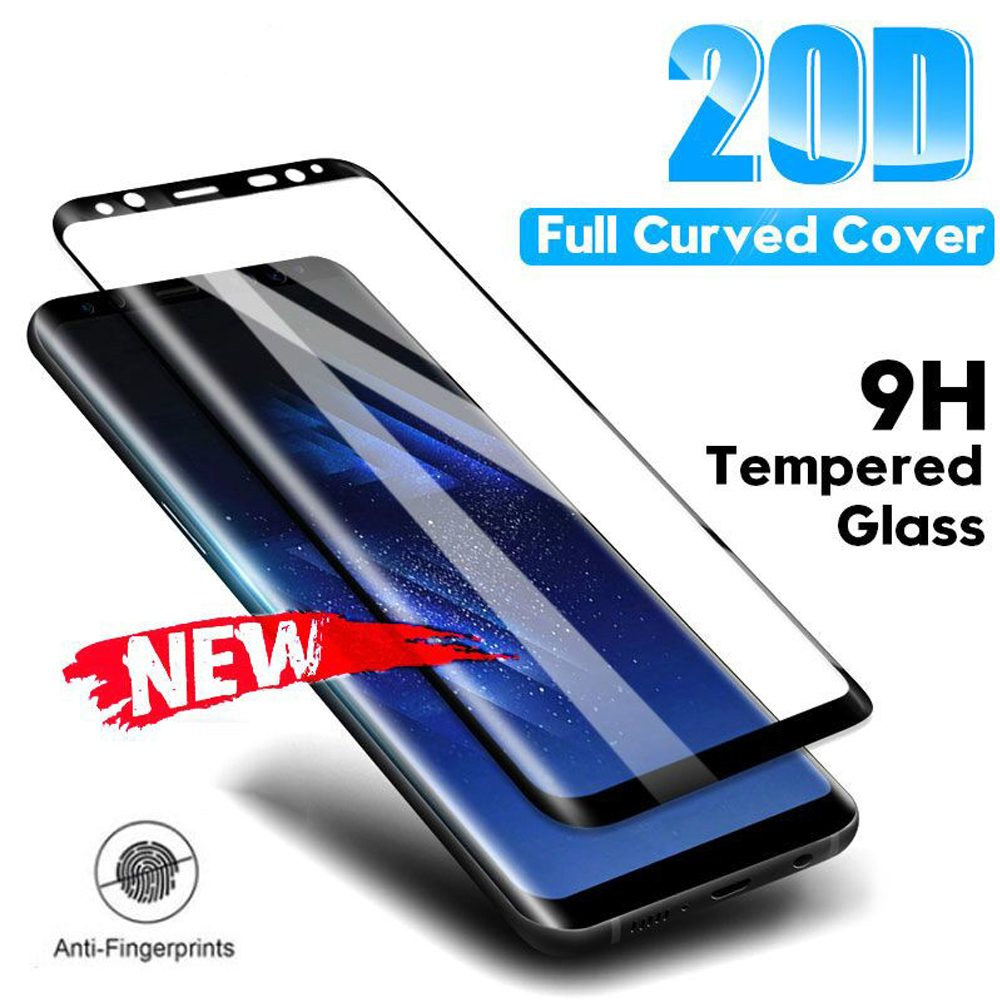 tempered glass for samsung Galaxy S10e S7 edge S8 S9 S10 plus full cover on the glass phone screen protector protective film image
