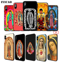 IYICAO VIRGEN DE GUADALUPE Soft Phone Case for iPhone 11 Pro XR X XS Max 6 6S 7 8 Plus 5 5S SE Silicone TPU 7 Plus iyicao snow mountain soft phone case for iphone 11 pro xr x xs max 6 6s 7 8 plus 5 5s se silicone tpu 7 plus