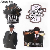 sticker motorcycle Flyingbee 18 pcs Peaky Blinders Cool Sticker men Stickers for DIY Luggage Laptop Skateboard Car Motorcycle Stickers X0729 (3)