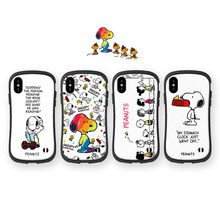 Iface peanut cartoon dog case cartoon cute smooth soft small waist cover iPhone7 11 8 plus x s R Max explosion proof case()