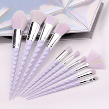 10pcs Unicorn Makeup Brushes Sets Foundation Powder Cosmetic