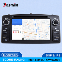 8Core DSP 4GB 64G 2 Din Android 9.0 Car DVD Player For Toyota Corolla E120 BYD F3 Car Multimedia Stereo GPS AutoRadio Navigation