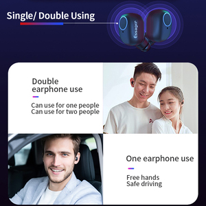 Image 5 - Essager T1 TWS Wireless Bluetooth 5.0 Earphone Headphones With Mic Sport Mini Cordless Headset True Wireless Earbuds For Phone