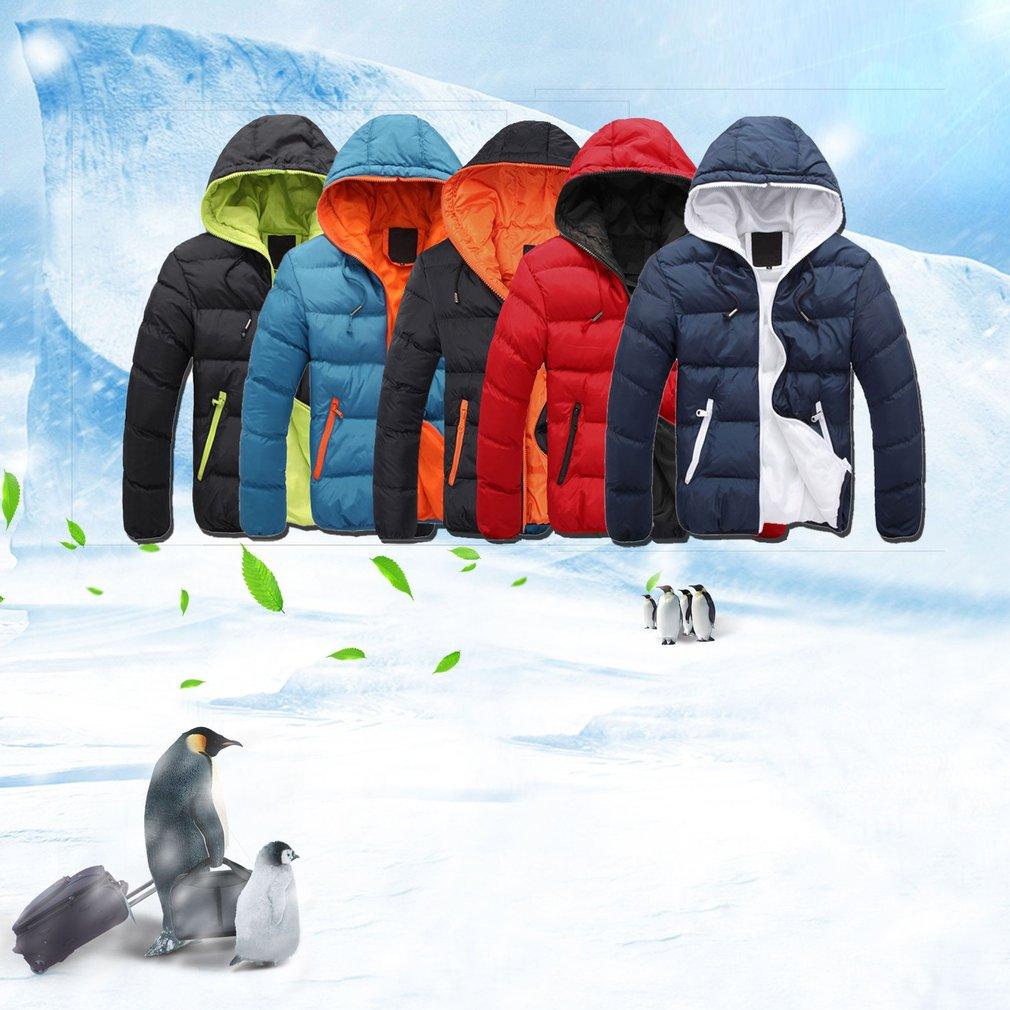 Men Jacket Dual Color Long Sleeve Men Jacket Cotton Casual Winter Men Coats Comfortable Male Outwear Universal Boy Clothings