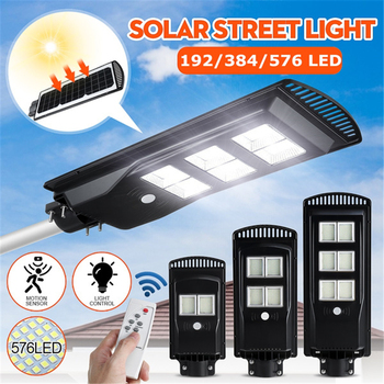 192-384-576-led-waterproof-solar-street-light-with-remote-control-radar-induction-outdoor-garden-wall-lamp-security-lighting