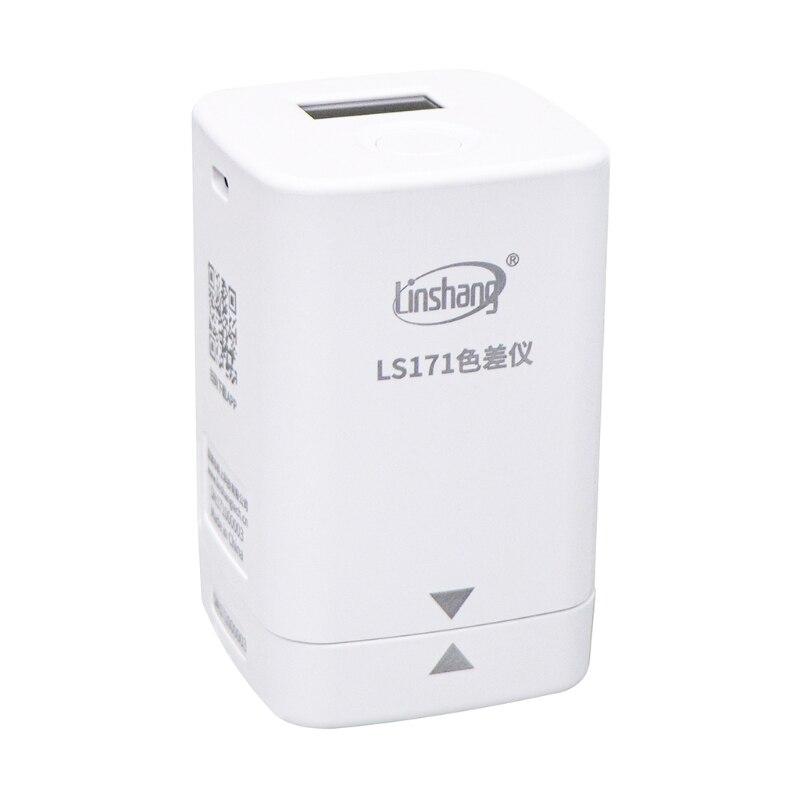 APP Portable Digital Colorimeter Color Difference Meter Color Analyzer 8mm LS171