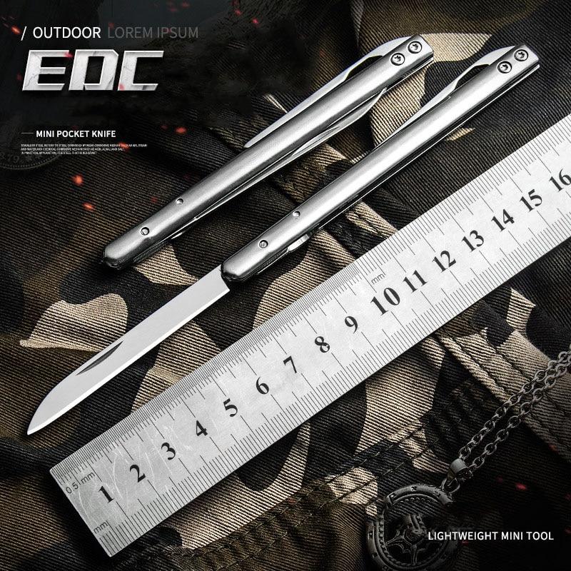 2020 Portable Mini Pocket CS Go Folding Knife Outdoor Camp Survival Knives Letter Opener Self Defense Outdoor Tool Knife