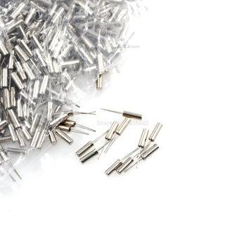 10PCS 32.768KHz 32.768 KHZ 32.768K Frequency Resonator Oscillator Quartz Crystal Cylender 2*6mm - sale item Active Components
