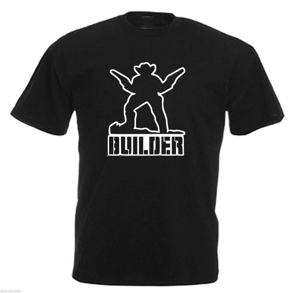 Cowboy Builder divertida camiseta para hombre 12 colores tamaño S-5xl camiseta de alta calidad