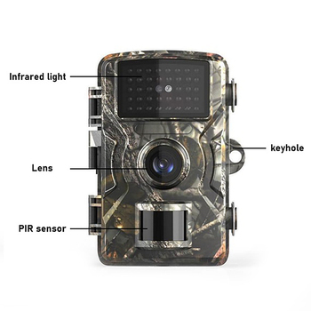 Wildlife Hunting Camera Trail Game 12MP1080P Motion Activated Security IP66 Night Vision Scouting Cameras 16GB 32GB Waterproof 2