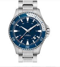 H82345141 relógio suíço caqui marinha scuba men relógios azul quartzo mergulho topo marca de luxo moda homem negócios relógio de pulso para homem