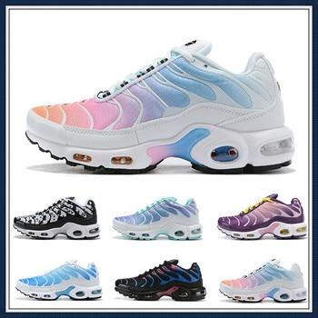 2020 New Rainbow Girl Black Green TN Plus TN Ultra SE Running Shoes Lady Women Silver Gold Orange Athletic Sport Shoes