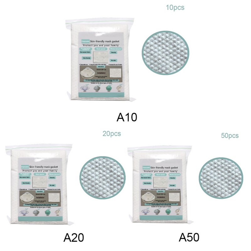 10/20/50pcs Air Mask Fiters Anti Dustproof Filter Disposable Mask Pad PM2.5 Masks Protective Breathable Replaceable Filter 7