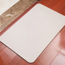 Natural Diatomaceous Earth Absorbent Pad Diatom Mud Floor Mat Bathroom Kitchen Door