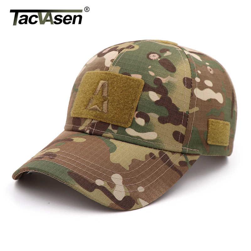 Unisex Military Combat Army Camo Sun Hat Trucker Baseball Cap Outdoor Adjustable