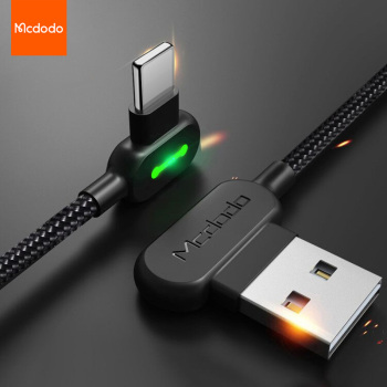 Kabel USB MCDODO 3m dla iPhone 12 11 Pro Max Xs Xr X 8 7 6s 6 Plus 5s iPad Air mini 2 4A szybka ładowarka do telefonu tanie i dobre opinie Rohs LIGHTNING CN (pochodzenie) USB A Ze wskaźnikiem LED 90 Degree LED USB Cable For iPhone Black Blue Red Aluminum+ Nylon