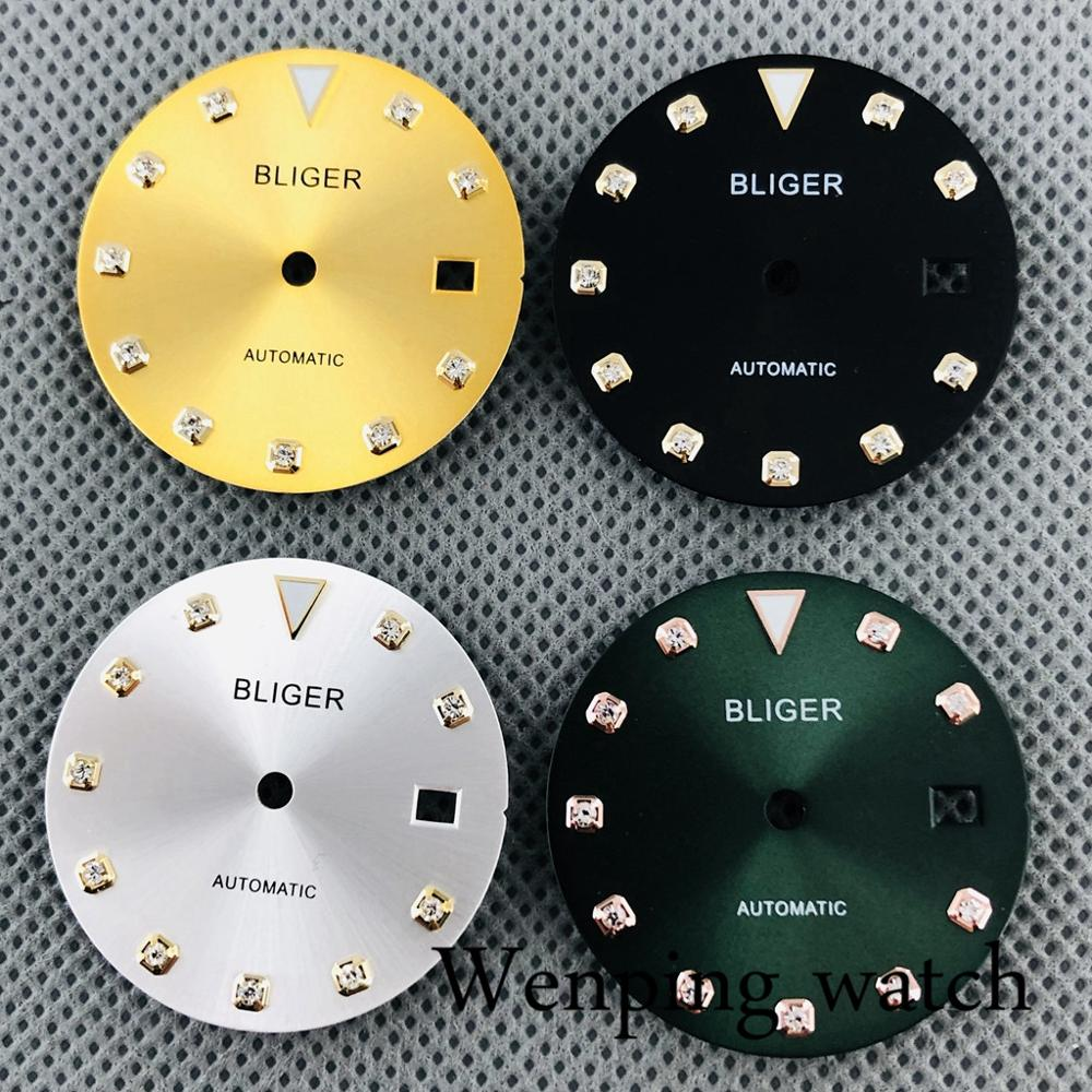 Bliger new 29.2mm watch dial suitable for 2836 2824 ,Miyota 8205 8215 821A,Mingzhu DG2813 3804 Seagull ST1612 movement
