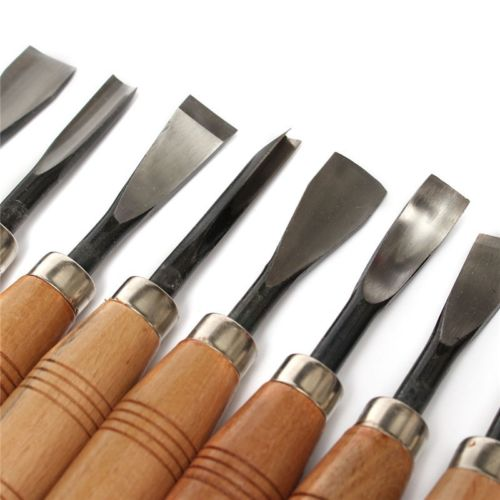 Fixmee 8Pcs set Dry hand Wood Carving Tools Chip Detail Chisel set Knives tool