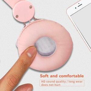 Image 4 - נשים חד קרן Wired אוזניות אוזניות ילדים מוסיקה אוזניות 3.5mm שקע משחקי אוזניות עבור טלפון נייד מחשב ילדה מתנות