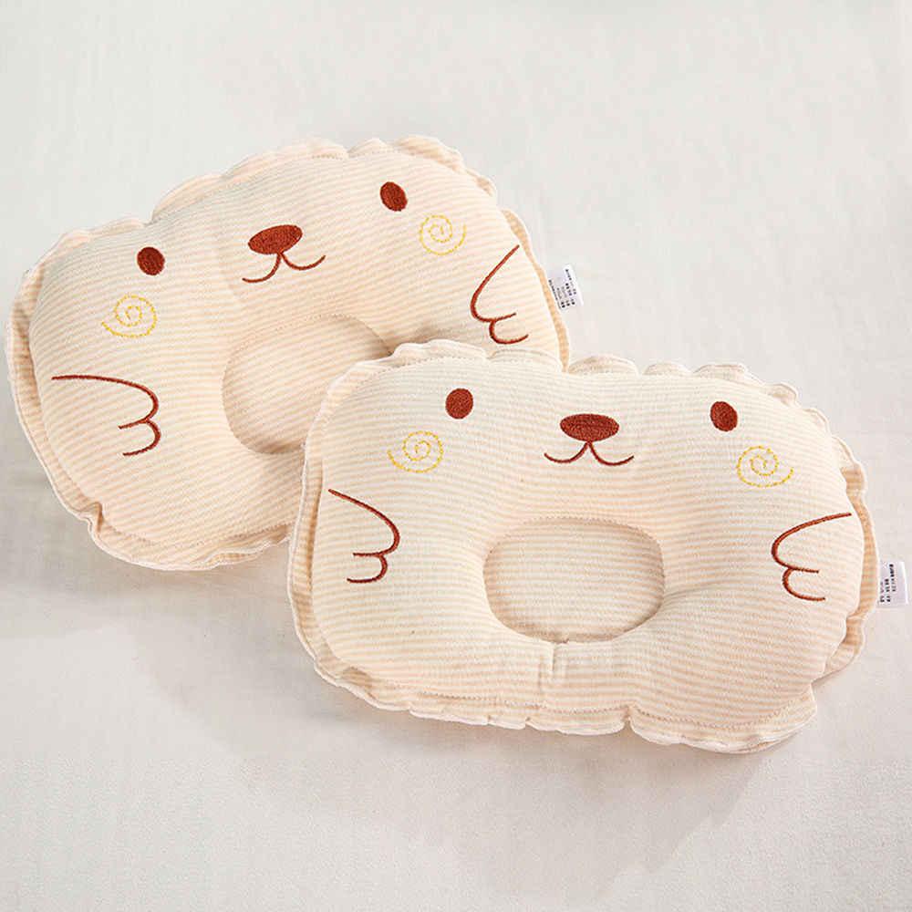 ใหม่ล่าสุดทารกแรกเกิดทารกAnti Roll Sleepหมอนทารกรองศีรษะแบบน่ารักน่ารักหมอน
