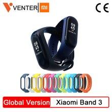 Globale Version Xiao mi mi Band 3 mi band 3 Smart Bluetooth Fitness Tracker OLED Bildschirm Wasserdichte Smart Armband Für IOS & Android