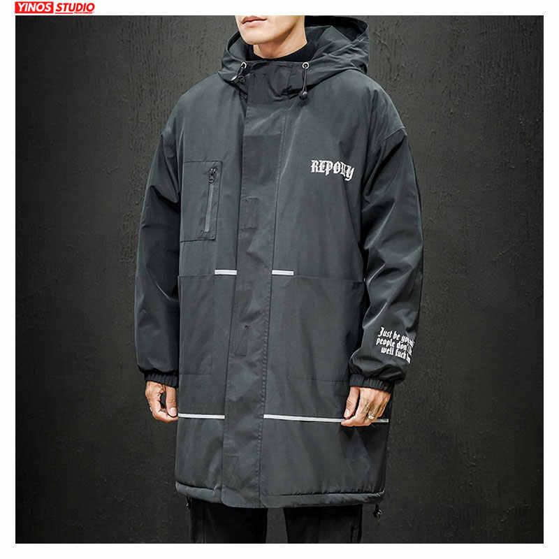 Dropshipping męska bluza z kapturem jednolita kurtka 2019 jesień mężczyzna Outdoor Lenghen topy zimowa Streetwear zagęścić kurtka wiatrówka