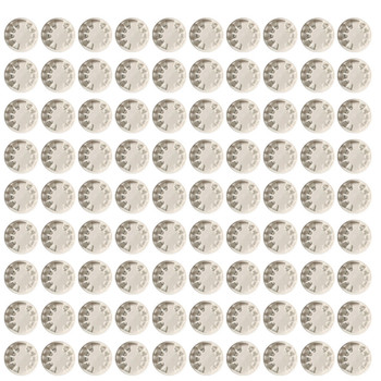 90pc Outdoor Anti-dust Face Mouth Filter Air Breathing Valves Replacements
