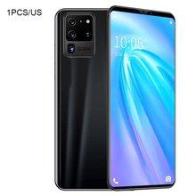 S20 Pro смартфон 5,8 дюймов экран смартфон 512M% 2B4G Android смартфон 3D стекло покрытие задняя крышка крышка черный