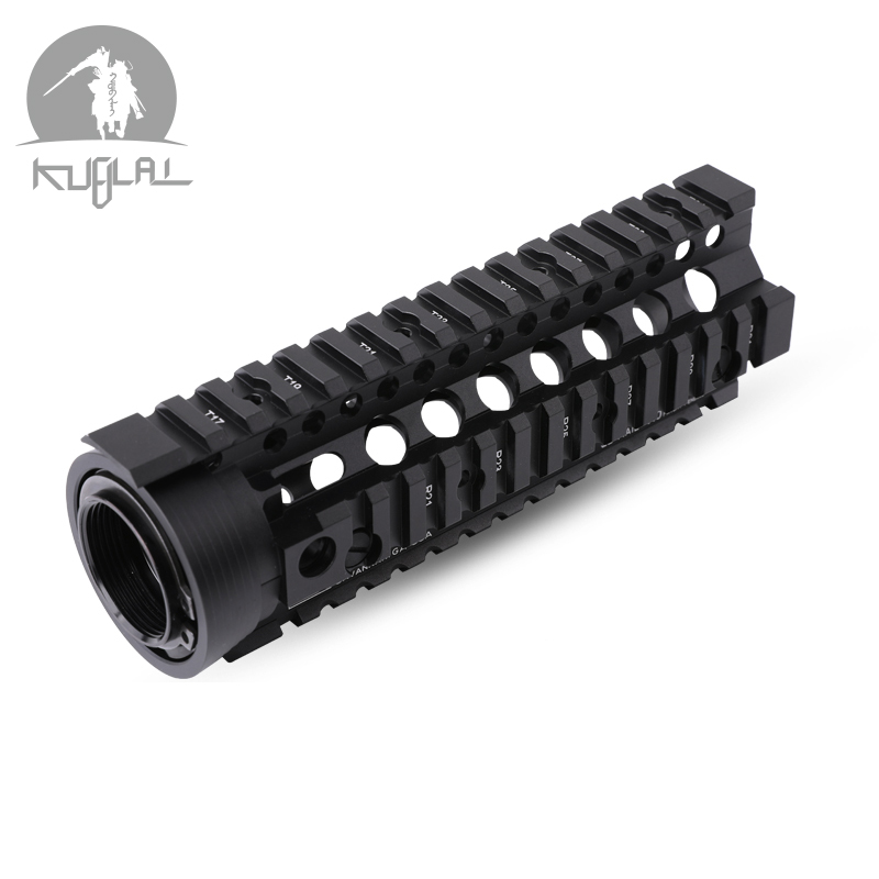 Handguard Carbine 6.7 Inch RIS Quad Rail Hunting Tactical Airsoft Gel Blaster Picatinny Mounting Gel Blaster Accessories