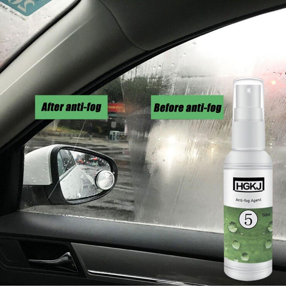 Accesorios para el mantenimiento de vehículos con revestimiento antiniebla y ventanas laterales para parabrisas de coche para una conducción segura