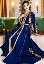 Вечернее пл л марокканские Кафтан Вечерние платья с вышивкой