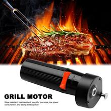 1.5V Barbecue Grill Motor Low Noise Heat Resistant Handheld CW/CCW Electric Oven Picnic Bbq Roast Accessories