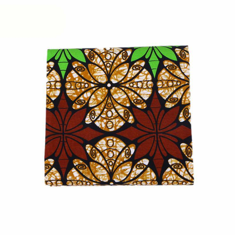 2019 Latest Arrivals 100 Cotton African Print Wax Fabric Pagnes African Real Dutch Wax 6Yard