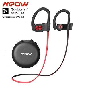 Mpow Newest Flame S Bluetooth 5.0 Wireless Sports Earphones CVC 8.0 Noise Cancelling Aptx-HD Sound iPX7 Sweatproof 12h Playtime(China)