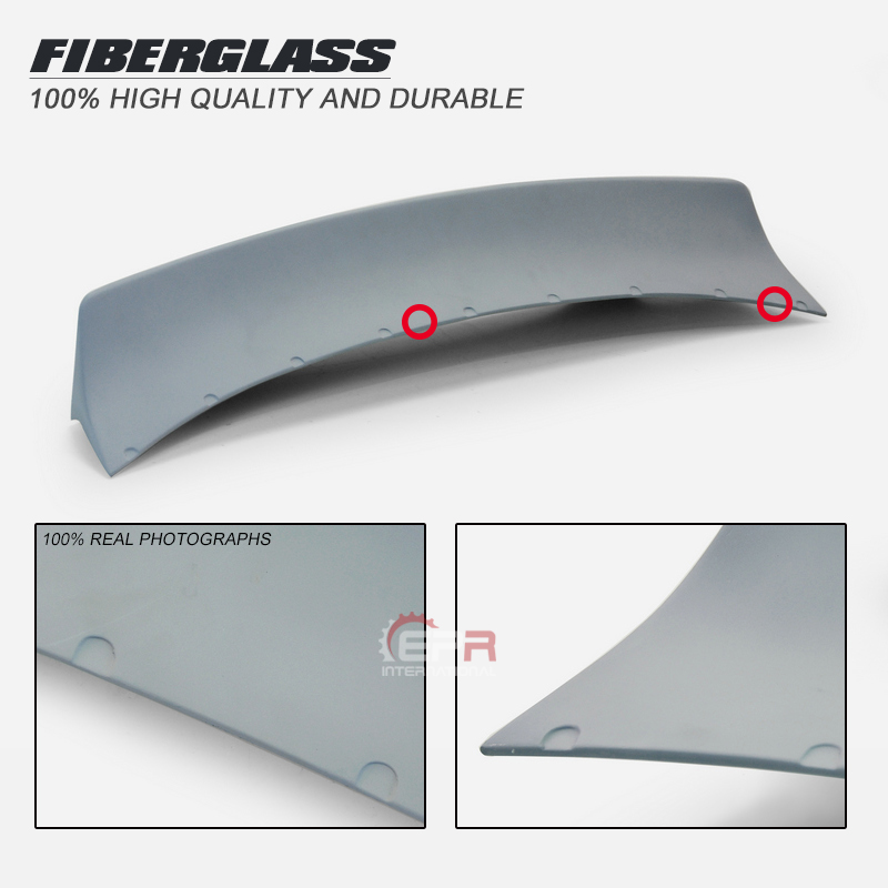 FRP Wing Lip Trim For <font><b>Mazda</b></font> <font><b>MX5</b></font> Roaster Miata NC TP Style Glass Fiber <font><b>Rear</b></font> Duckbill <font><b>Spoiler</b></font> Tuning Body Kit For Roaster Miata NC image