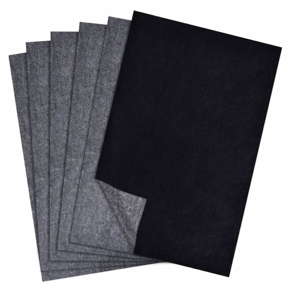 50 Sheets/Pack Carbon Transfer Paper, Black Tracing Paper For Wood, Paper, Canvas And Other Art Surfaces ,9 X 13 Inch