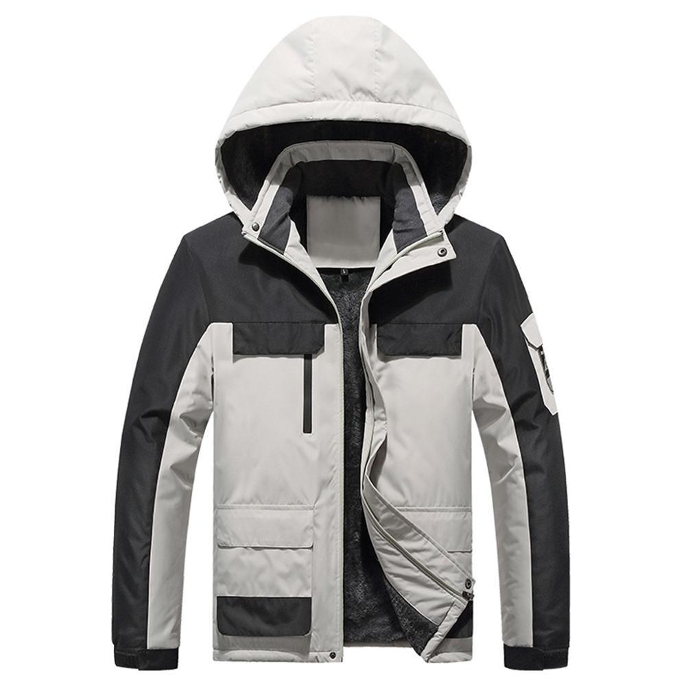 Jaquetas de Esqui Térmicas de Inverno Esportes ao ar Resistente a Riscos Masculino Livre Caminhadas Acampamento Esqui Snowboard Impermeável Multi-pocket Cabolsas