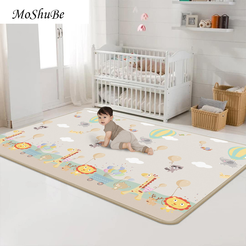 Baby Play Mat For Children Chess Game Soft Floor Parent-child Gym Crawling Carpet 200*180 Developing Mat Kids Rug Toys