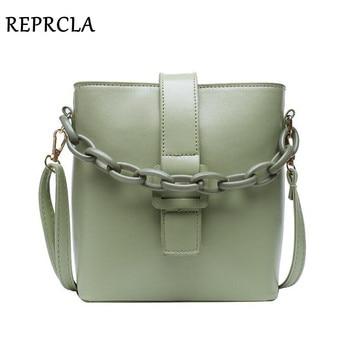 New Designer Bucket Women Bag Chain Handbags PU Leather Shoulder Fashion Female Crossbody Bags