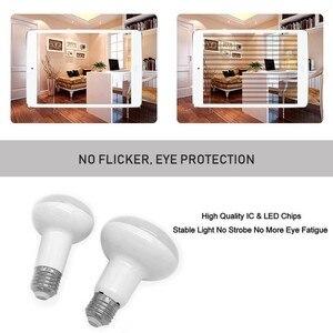 Image 4 - No Flicker R39 R50 R63 R80 led Umbrella Bulb AC 85 265V E27 E14 Led Bulb Bombillas Lamp cfl Ampoule Spotlight Light Lampada