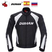 DUHAN Motorcycle Jacket Men Jaqueta Motociclista Autumn Winter Windproof Moto Motocross Jacket Have Cotton Lining Black