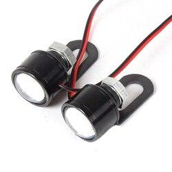 Gorąca sprzedaż 2 szt. LED kierownica motocykla reflektor biały reflektor światło drogowe przeciwmgielne      -