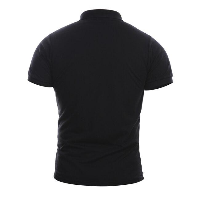 Фото возьмите s 4xl фирменная новинка тонкий мужской рубашки поло