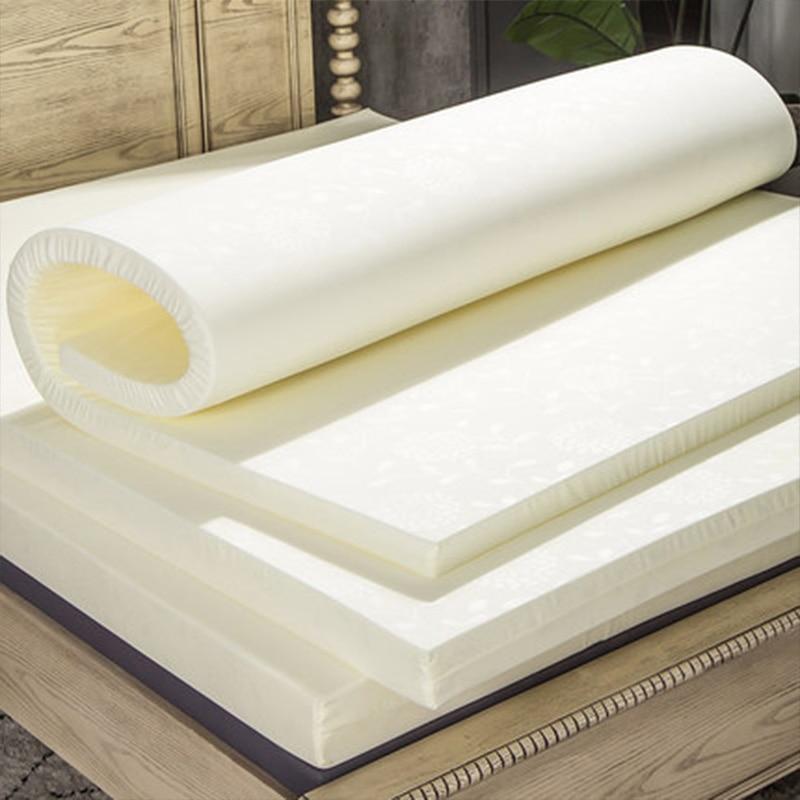 High Resilience PU Foam Sponge Mattress Single Double Bed Twin Queen Size 3CM/5CM/10CM Medium Soft Foam Mattress