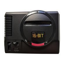 Console de jeu Mini sega genesis, système 168 en 1, avec un boîtier, un contrôleur et un adaptateur ca générique
