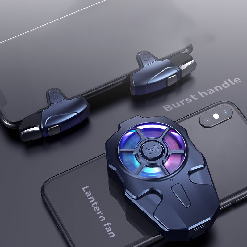 Игровой контроллер MEMO AK03 PUBG для мобильного телефона, игровой джойстик, триггер, регулируемая передача, низкий уровень шума, геймпад с RGB свет...