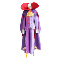 Re Life in a different world from zero Roawaal L Mathers cosplay Costumes Men Complete Outfit Fancy Party Clothes Purple Unifor